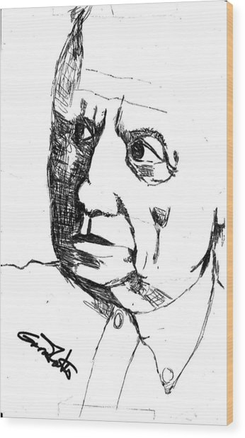 Picasso Wood Print