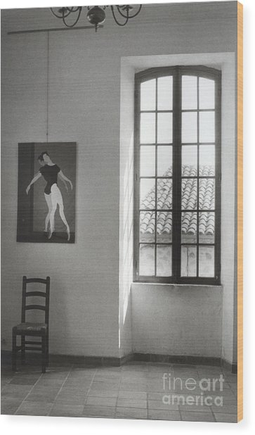 Picasso Museum Wood Print by Andrea Simon