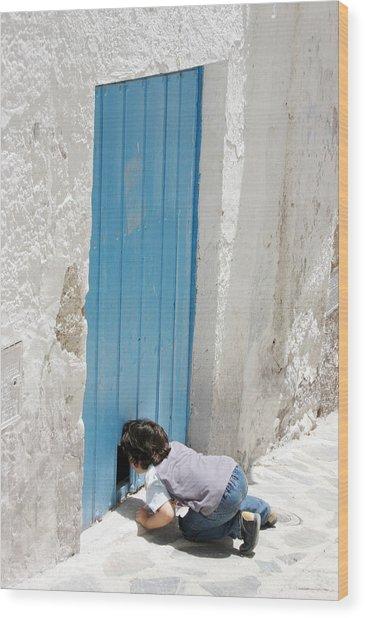 Picena 10 Wood Print by Jez C Self
