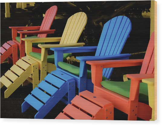 Pick Your Color Wood Print by JAMART Photography