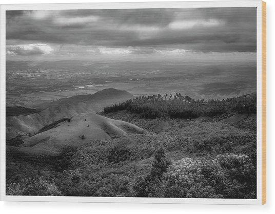 Pico Do Itapeva-pindamonhangaba-sp Wood Print