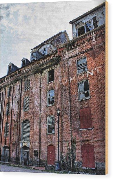 Piedmont Mill Wood Print