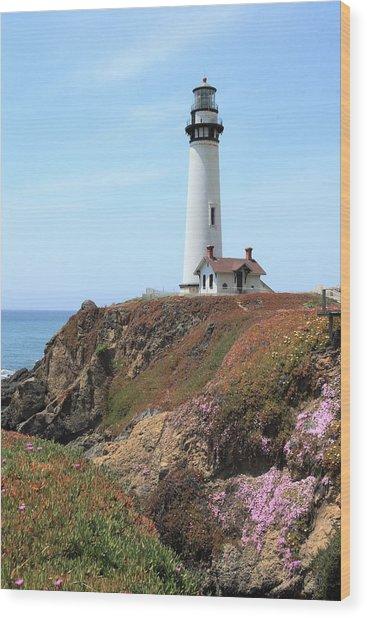 Pigeon Point Lighthouse 2 Wood Print