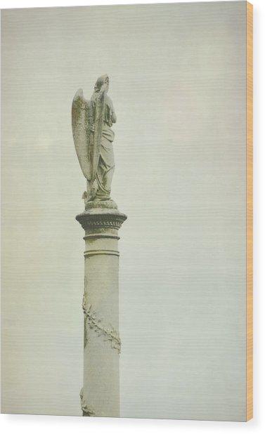Pillar Of Faith Wood Print by JAMART Photography
