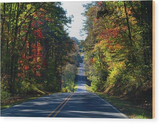 Pilot-westfield Road Wood Print