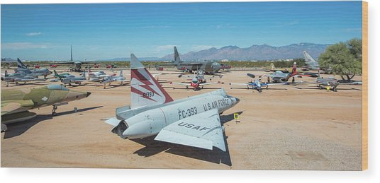 Wood Print featuring the photograph Pima Air And Space Museum by Dan McManus