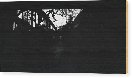 Pin Hole Camera Shot 2 Wood Print