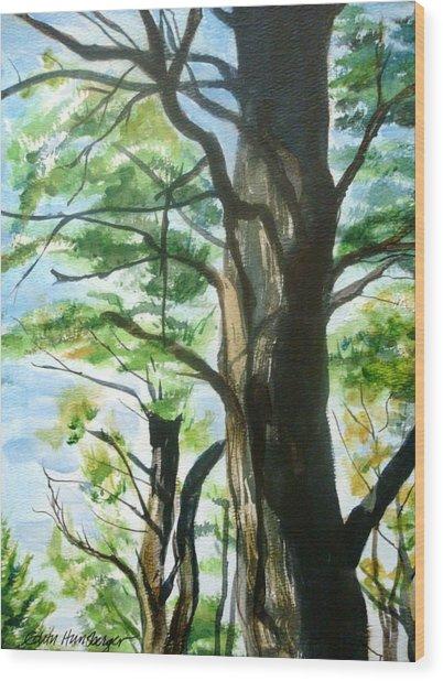 Piney Woods Wood Print
