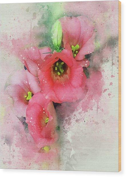 Pink Babies.jpg Wood Print