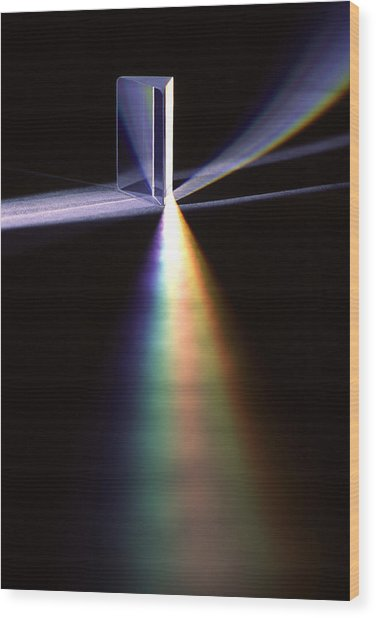 Pink Floyd Physics Wood Print