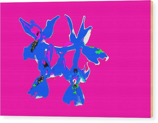Pink Provence Orchid Wood Print