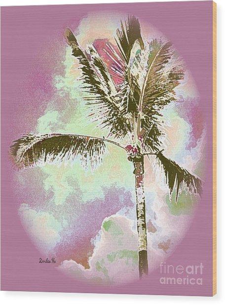 Pink Skies Wood Print