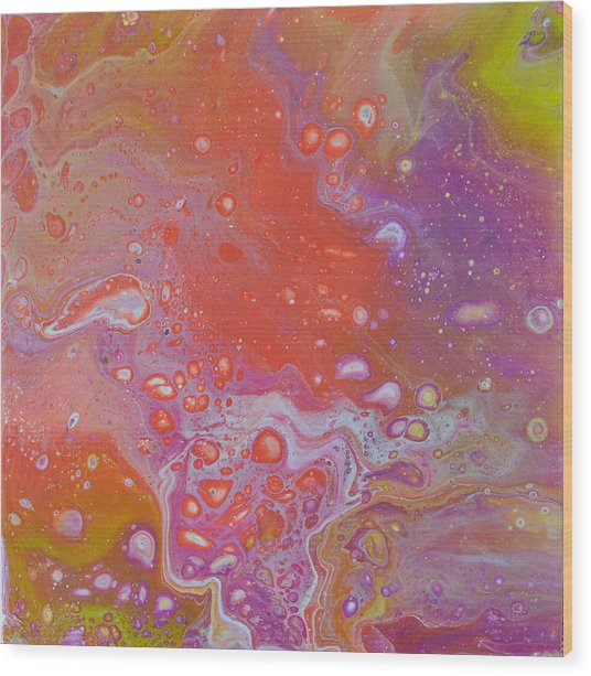 Pinky Wood Print