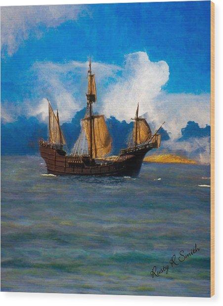 Pinta Replica Wood Print