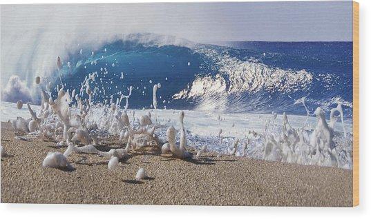 Pipe Foam Wood Print