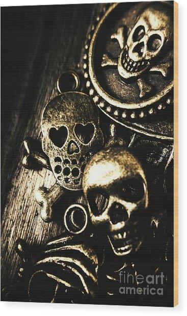 Pirate Treasure Wood Print