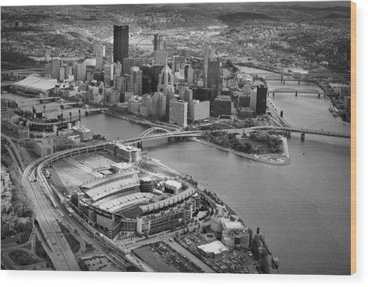 Pittsburgh 9 Wood Print