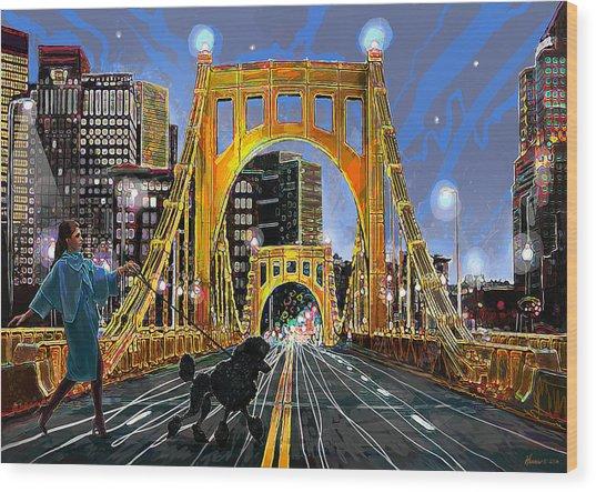 Pittsburgh Chic Wood Print