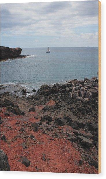 Playa Blanca - Lanzarote Wood Print