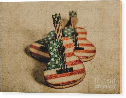 Played In America Wood Print