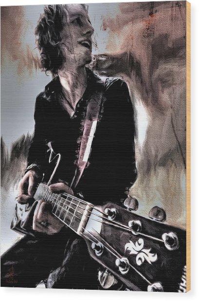 Playin' Grunge Wood Print