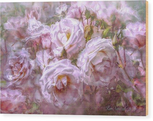 Pocket Full Of Roses Wood Print