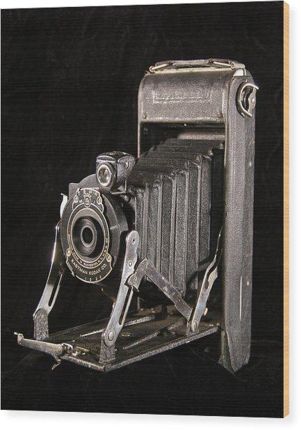 Pocket Kodak Series II Wood Print