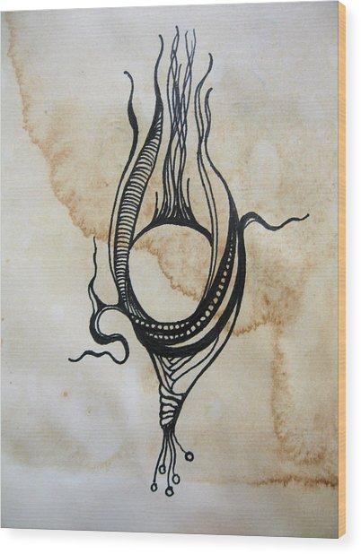 Pod Wood Print by Tim  Canwell