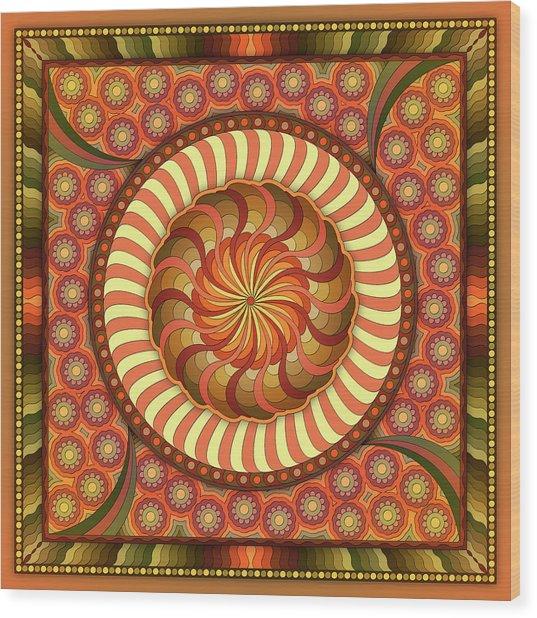 Poetry In Motion Wood Print