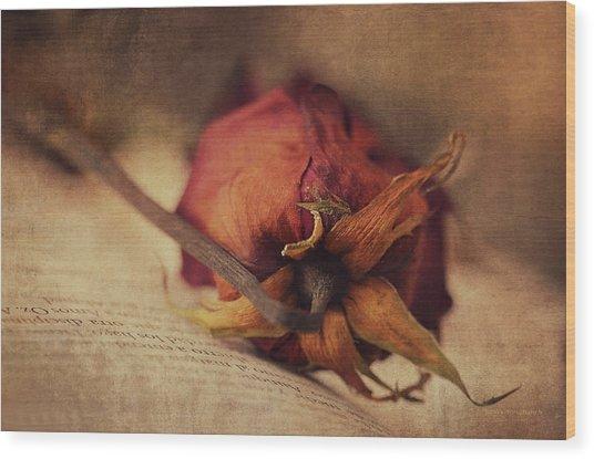 Poetry Wood Print