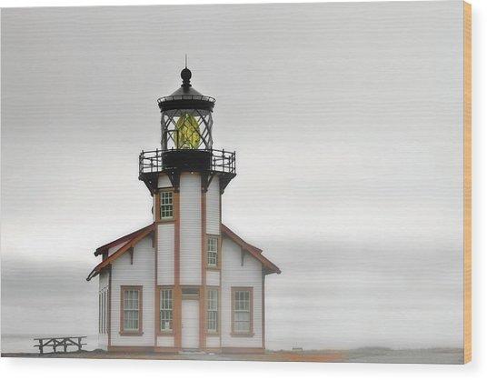 Point Cabrillo Light Station - Mendocino Ca Wood Print