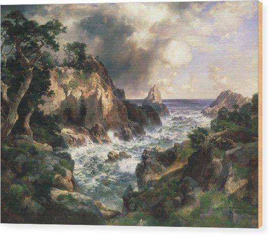 Point Lobos Monterey California Wood Print