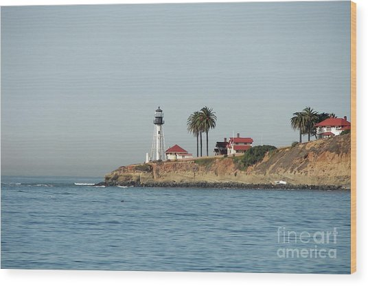 Point Loma Lower Lighthouse Wood Print