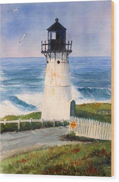 Point Montara Lighthouse Wood Print