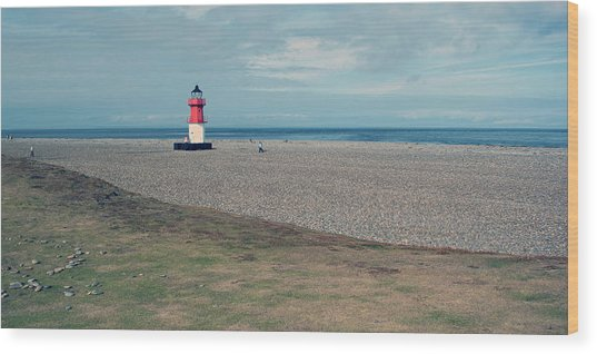 Point Of Ayre Wood Print by Steve Watson