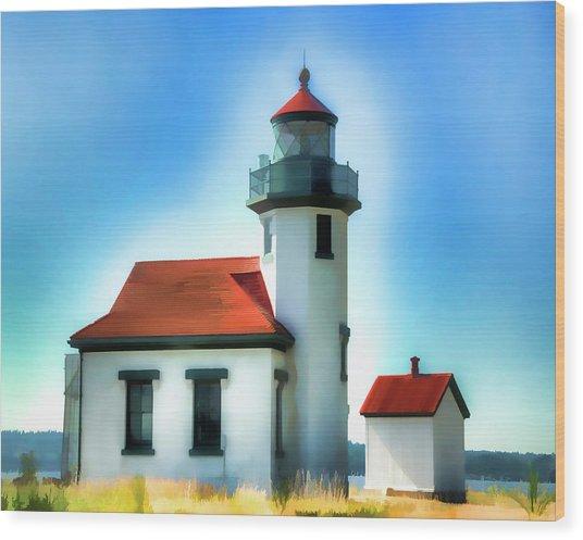Point Robinson Lighthouse Wood Print