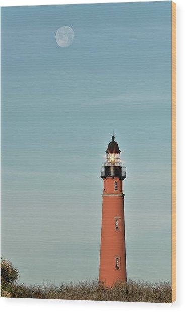 Ponce De Leon Lighthouse Wood Print