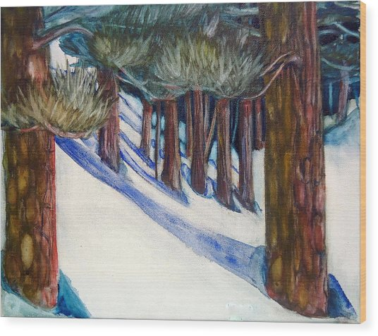 Ponderosa Wood Print