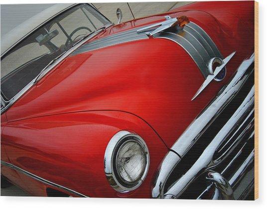 Pontiac Chieftain 1954 Front Wood Print