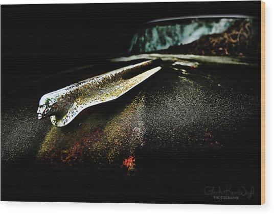 Pontiac Emblem Wood Print