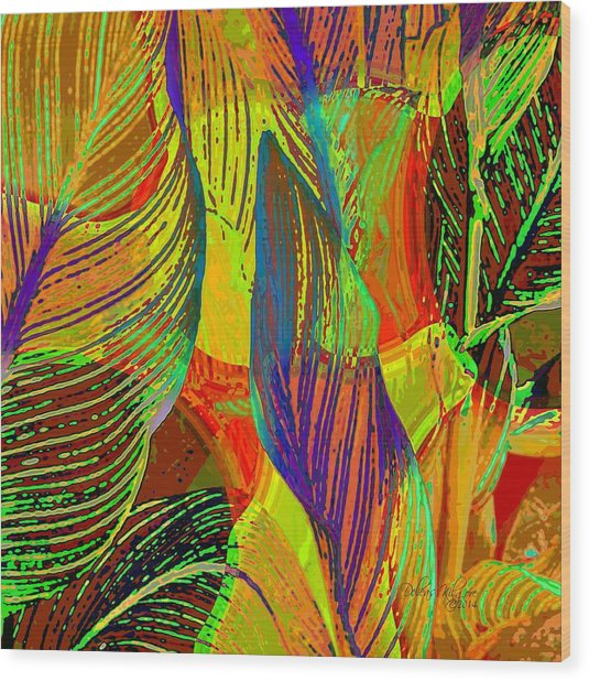 Pop Art Cannas Wood Print