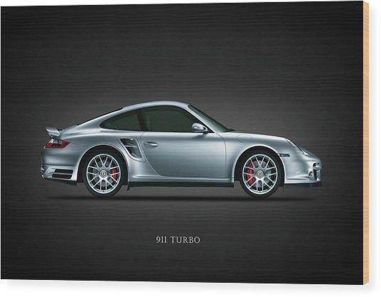Porsche 911 Turbo Wood Print