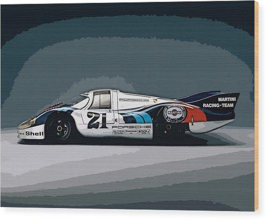 Porsche 917 Longtail 1971 Wood Print