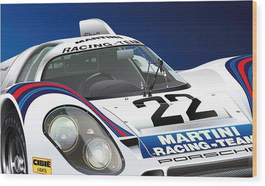 Porsche 917k Wood Print