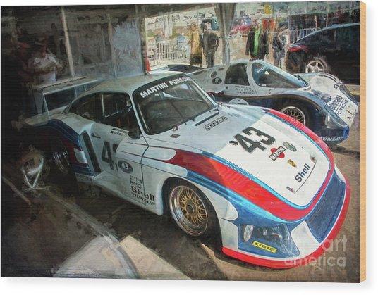 Porsche 935 Moby Dick Wood Print