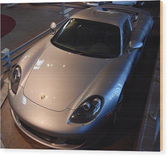Porsche Carrera G T Wood Print