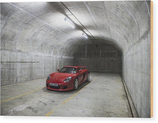 Porsche Carrera Gt Wood Print
