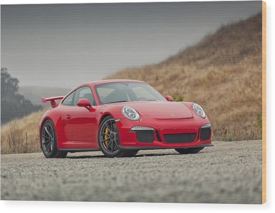 Wood Print featuring the photograph Porsche 991 Gt3 by ItzKirb Photography