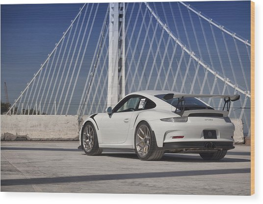 Wood Print featuring the photograph Porsche Gt3rs by ItzKirb Photography