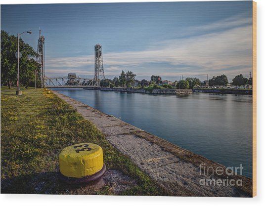 Port Colborne Wood Print